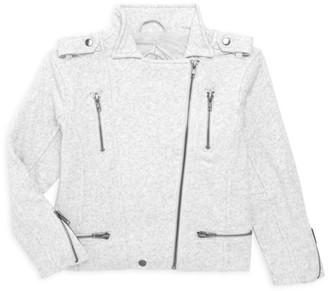 Chaser Girl's Cotton Fleece Moto Jacket