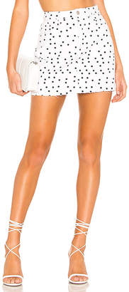 superdown Lila Polka Dot Skirt.