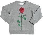 Mini Rodini Rose Print Organic Cotton Sweatshirt