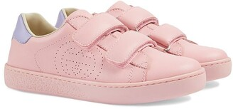 Gucci Kids Ace touch-strap sneakers