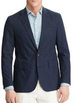 Polo Ralph Lauren Textured Two-Button Blazer