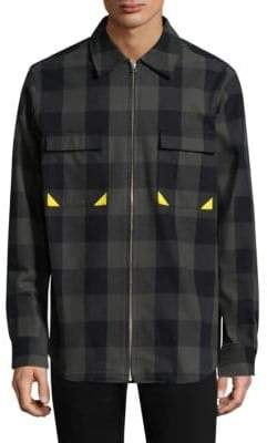 Dim Mak Checkered Cotton Jacket