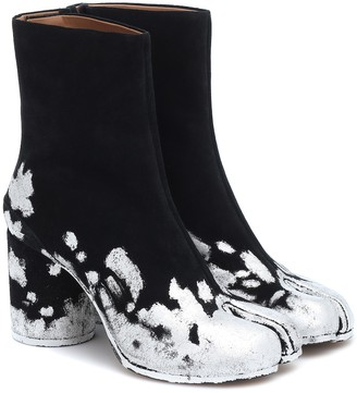 Maison Margiela Tabi suede ankle boots
