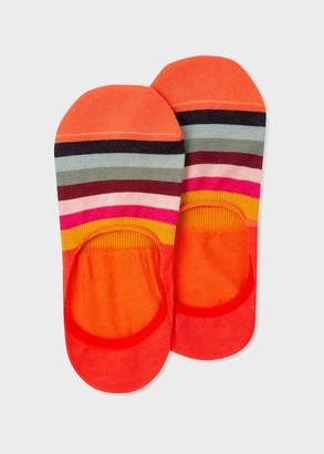 Paul Smith Women's Swirl Stripe Loafer Socks