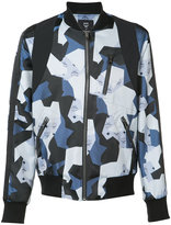Christopher Raeburn geometric bomber jacket - men - Acetate - S