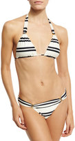 Vix Classic Striped Swim Top