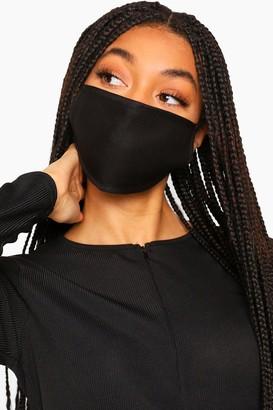 boohoo Black Fashion Face Mask 3 Pack