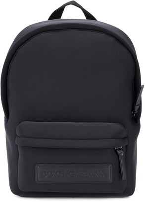 Dolce & Gabbana Kids Logo Plaque Backpack