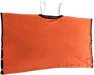 Lauren Ralph Lauren Orange Cotton Coat for Women