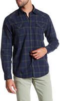 James Campbell Scot Vaquero Plaid Long Sleeve Regular Fit Shirt