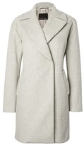 Banana Republic Italian Melton Wool-Blend Car Coat