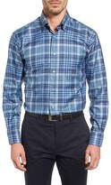 Robert Talbott Men's 'Anderson' Classic Fit Plaid Sport Shirt