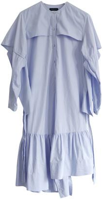 Eudon Choi Blue Cotton Dress for Women