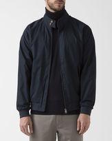 Ben Sherman Harri' Navy Blue Cotton Jacket