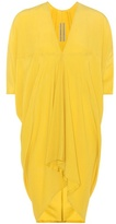 Rick Owens Yellow crêpe dress