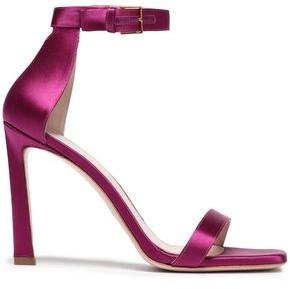 Stuart Weitzman Satin Sandals