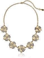 Yochi Pearl Floral Necklace