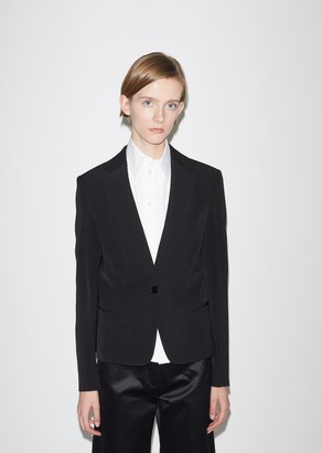 Jil Sander Maiva Fluid Silk and Viscose Blazer