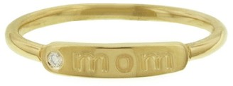 My Story Mom Yellow Gold Ring