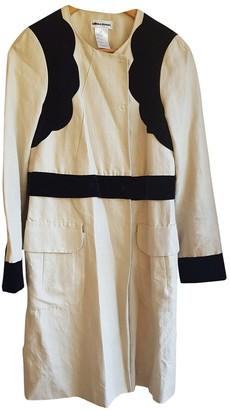 Sonia Rykiel Beige Cotton Coat for Women