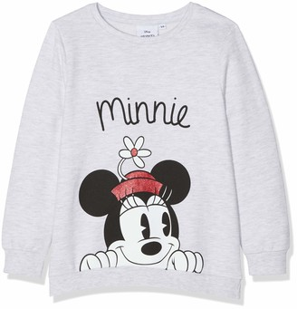 Disney Minnie Mouse Girl's Minnie Mouse Flower Hat Sweatshirt