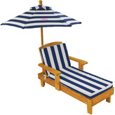 Kid Kraft Outdoor Chaise with Umbrella