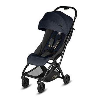 Kurt Geiger cbx ETU Ultra Compact Pushchair, Incl. Rain Cover and Travel Bag, from Birth to 15 kg, Smoky Anthracite