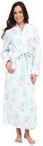 Carole Hochman Diamond Quilt Long Robe