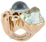 Tory Burch Roxanne crystal-embellished ring