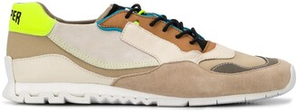 Camper Nothing colour blocked low top sneakers