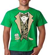 Juiceclouds Camo Tuxedo T Shirt Beer In My Pocket Mens Tee S-5XL (, 2XL)