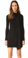 Edun Draped Wool Wrap Dress