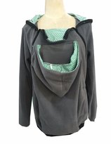 Sexyshine Women's Maternity Coat 3in1 Baby Carrier Jacket Kangaroo Hoodie Outwear (GY-GRBD,XL)