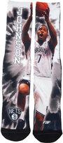 For Bare Feet Joe Johnson Brooklyn Nets Tie-Dye 308S Crew Socks