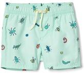 Gap Print swim trunks