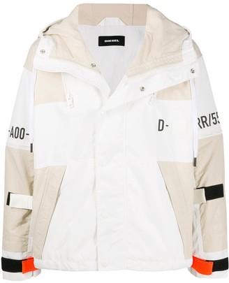 Diesel deconstructed Industry jacket
