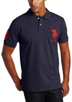 U.S. Polo Assn. Men's Solid Polo with Big Pony