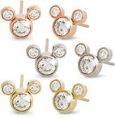 Disney Diamond Mickey Mouse 14K Earrings - Large