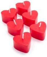 Sur La Table Heart Candles, Set of 6