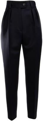 Miu Miu High-Waisted Tapered Trousers