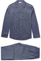 Derek Rose Nelson Printed Cotton Pyjama Set