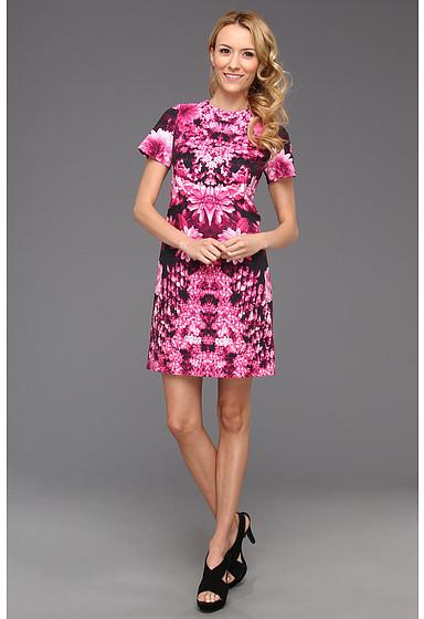 MICHAEL Michael Kors Kew Garden Short Sleeve Dress