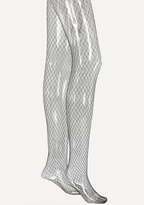 Bebe Mini Diamond Fishnet Tights