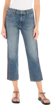 Fidelity Taylor Ultra HIgh Rise Straight Leg Cropped Jeans