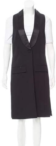 Givenchy Longline Wool Vest