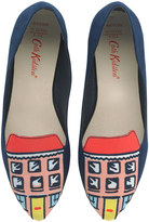 Cath Kidston House Embroidered Shoes