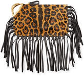 Valentino Garavani Cheetah-Print Zodiac Clutch Bag