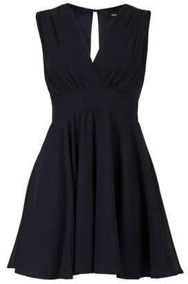 Dorothy Perkins Womens *Tfnc Navy V Wrap Neck Mini Dress