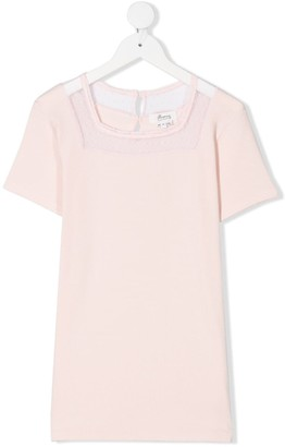 Bonpoint TEEN lace detail T-shirt