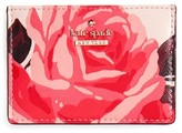 Kate Spade Women's Cameron Street Roses Card Holder - Pink